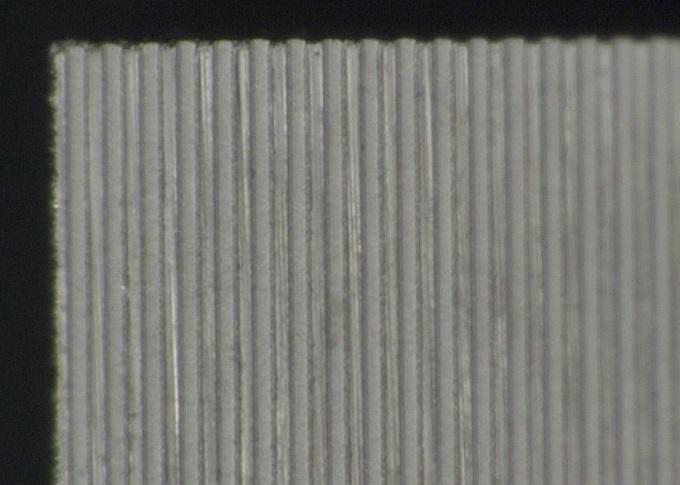微細凸凹加工形状 0.03㎜の溝