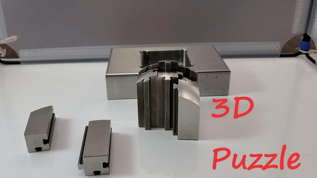 y-moldチャンネル『3Dパズル』